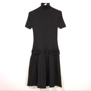 Moda International Brown Sweater Dress Medium